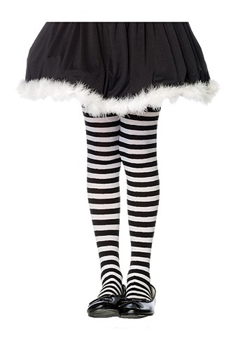 Tights Clipart Girls Striped Black And White Tights Jpg