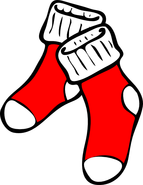 Tights Clipart Red Socks Hi Png