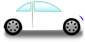 White Car Clip Art At Clker Com   Vector Clip Art Online Royalty Free