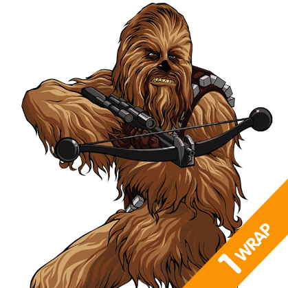 Chewbacca   Fanwraps   Partial Vehicle Wraps