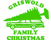 Christmas Vacation It S A Griswold Family Christmas Iron On Transfer