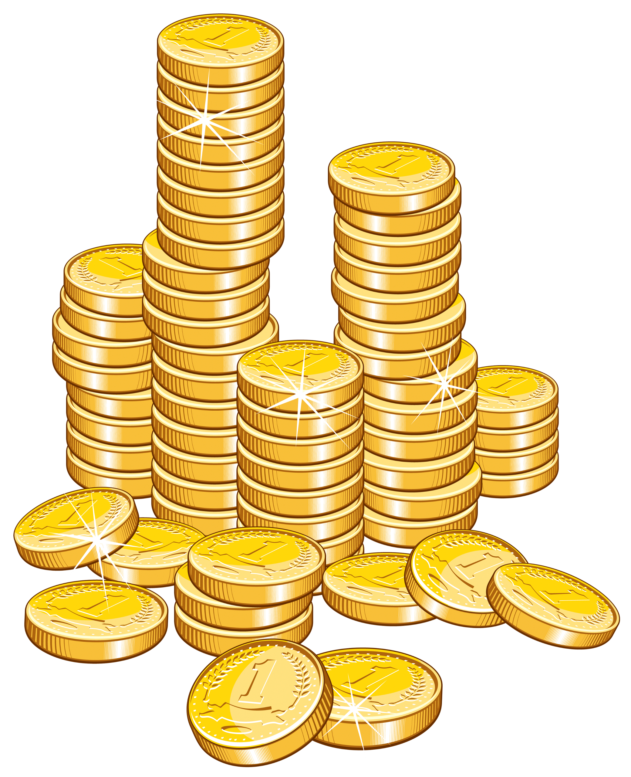 Coin Money Clipart - Clipart Kid