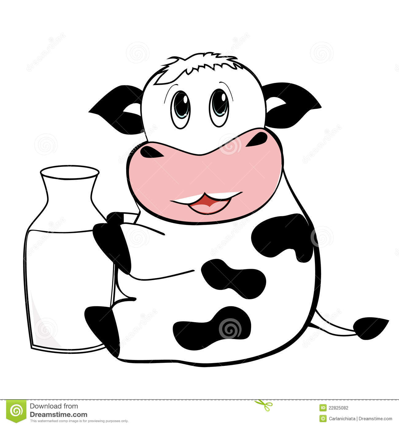 Cute Brown Cow Clipart - Clipart Kid