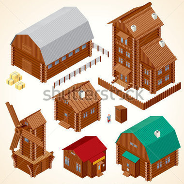Farm Barn Et Grand Vector Clipart Image Vectorielle   Clipart Me