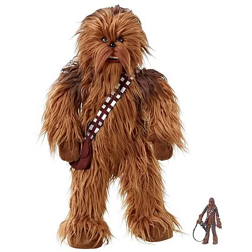From Their Sockets Thanks To This Star Wars Chewbacca Talking Plush