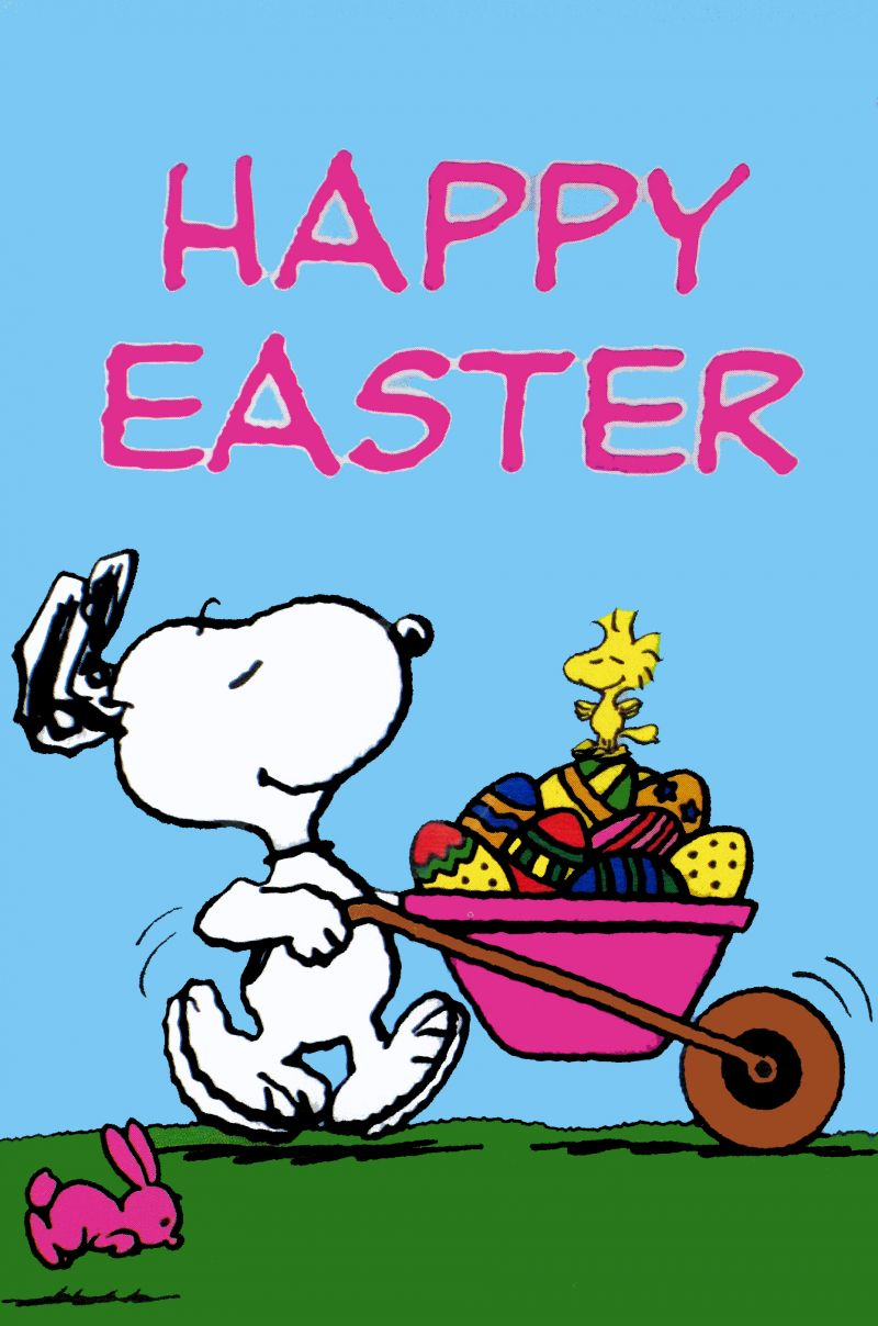 snoopy easter clipart