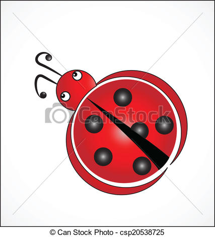 Luck Logo   Ladybug Symbol Of Good    Csp20538725   Search Clipart