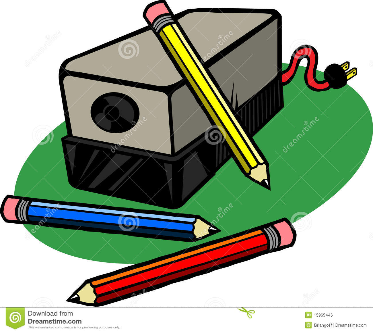 Electric Pencil Sharpener Clip Art