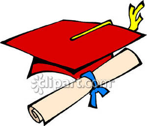 Red Graduation Cap Clipart - Clipart Kid