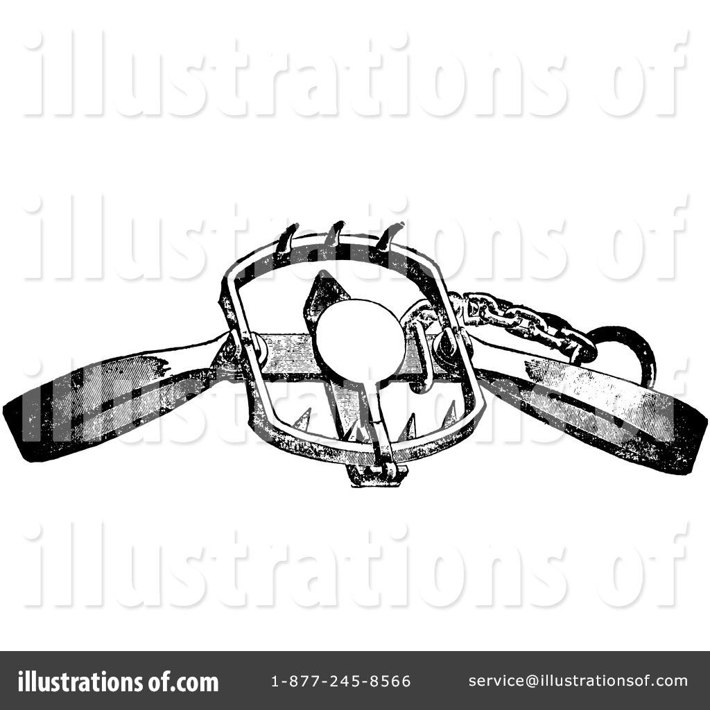 Royalty Free  Rf  Trapping Clipart Illustration By Picsburg   Stock