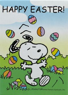 Snoopy Easter Snoopy Easter Mini Jigsaw Puzzle