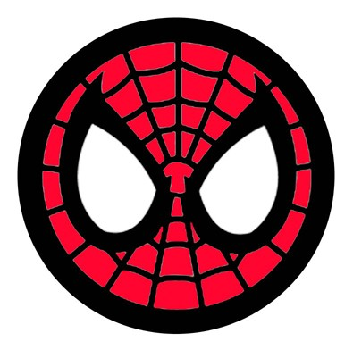 Spiderman Face Logo   Spiderman Mask Clipart
