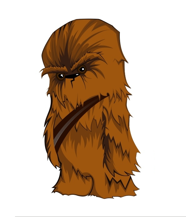 Vector Star Wars Character  Chewbacca