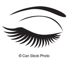And Stock Art  4899 Eyelashes Illustration And Vector Eps Clipart