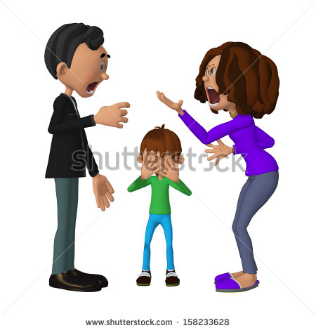Angry Parents Child Stock Photos Illustrations And Vector Art