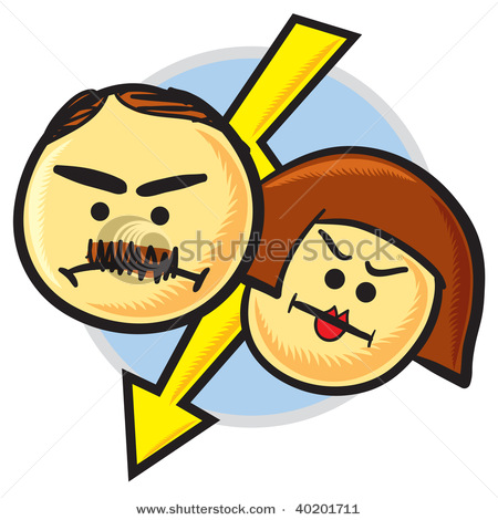 Angry Parents Clipart Angry Parent C