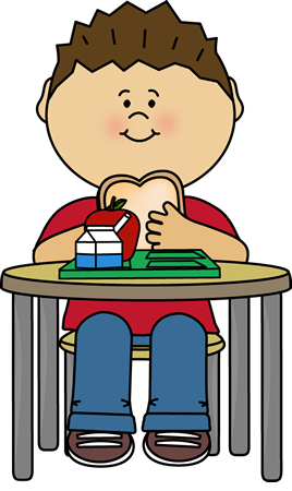 Boy Eating Lunch Clipart - Clipart Suggest