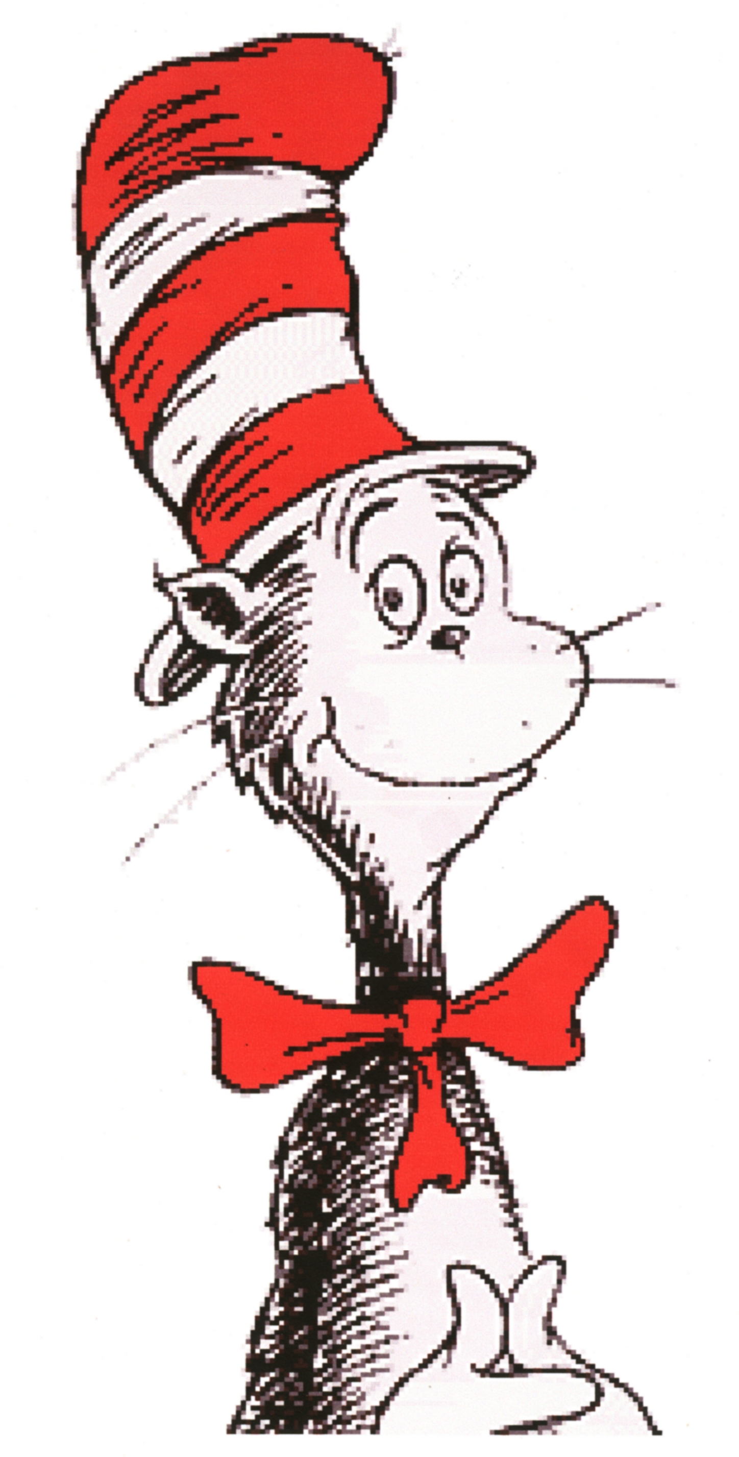 free clipart cat in the hat - photo #18