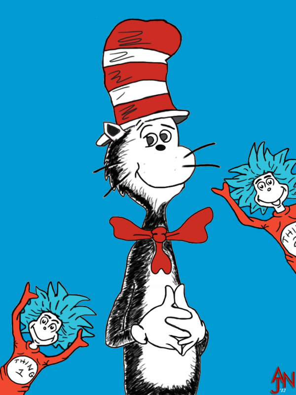 Cat In The Hat Clipart   Search Results   The Works