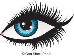 Eyelash Clip Art Vector Graphics  3385 Eyelash Eps Clipart Vector And