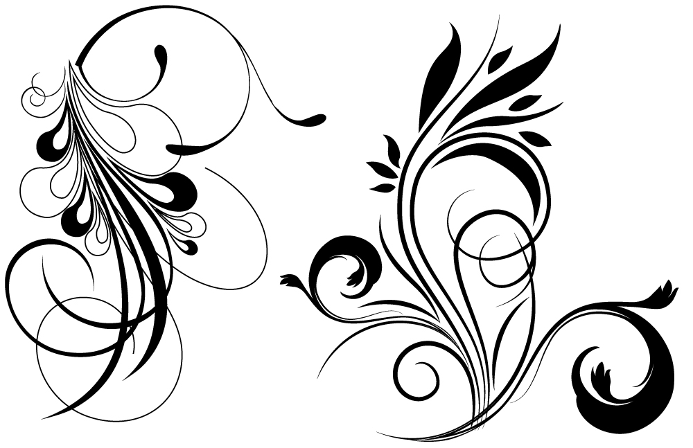 Free Vector Library   Free Floral Vector