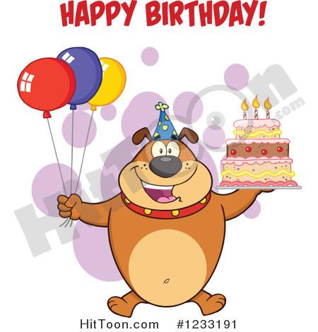 Happy Birthday Dog Clip Art   Cliparts