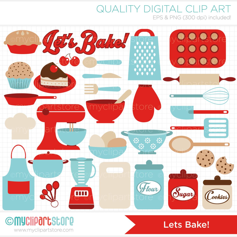 Vintage Kitchen Utensils Clipart - Clipart Kid