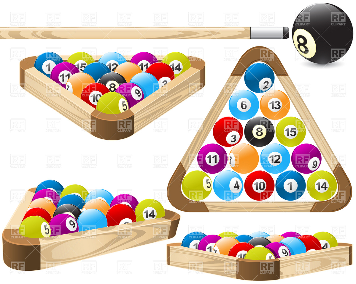 Pool Ball Rack Clipart - Clipart Suggest