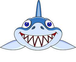 Shark Face Clipart - Clipart Suggest
