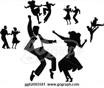 Teens Dancing Clip Art Jtwlme Clipart on Jitterbug Logo