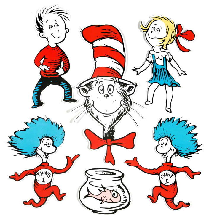 The Cat In The Hat Clip Art   Cliparts Co