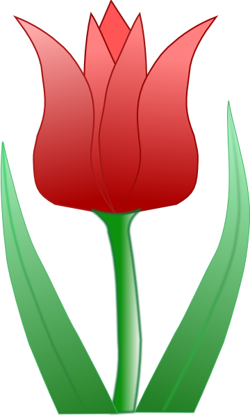 Purple Tulip Clipart - Clipart Kid