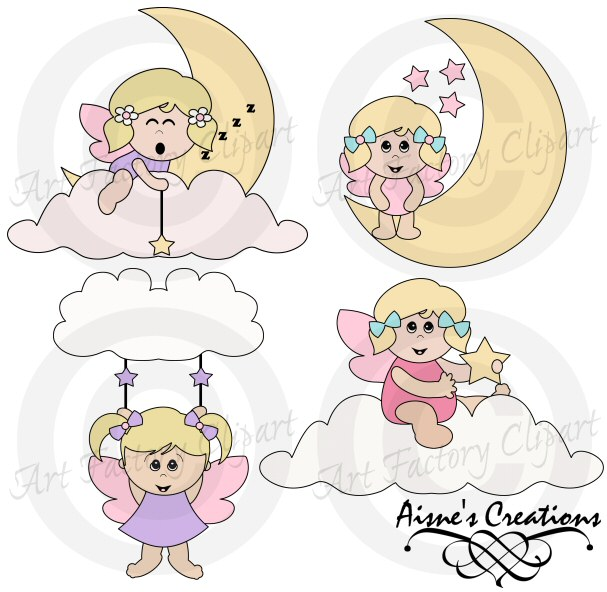 Angel Babies Clipart   Embroidery Delight   Your Source For All