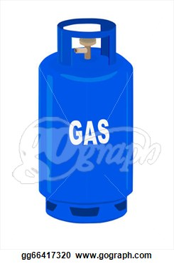 Clip Art   Propane Gas Cylinder   Vector Illustration    Stock