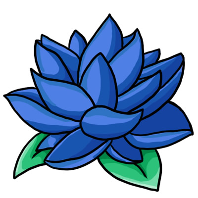 Clipart 1576 Free Flower Clip Art Favorite Links Store Free Blue