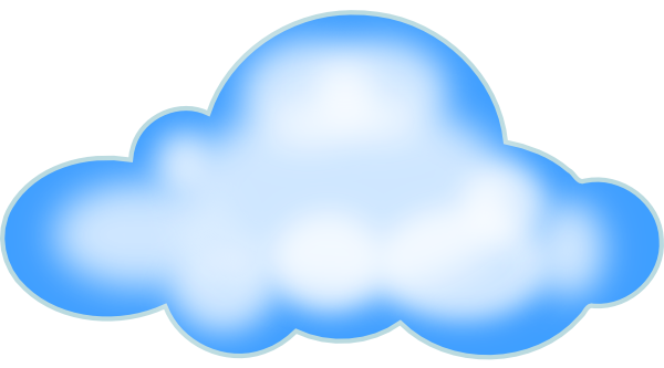 Cloud Clip Art  Png And Svg
