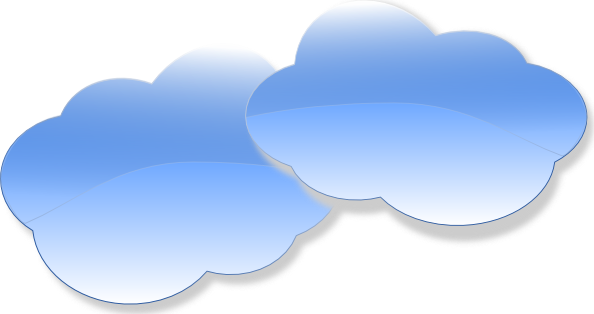 Clouds Clip Art At Clker Com   Vector Clip Art Online Royalty Free