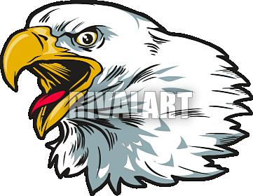 Mean Eagle Clipart - Clipart Kid