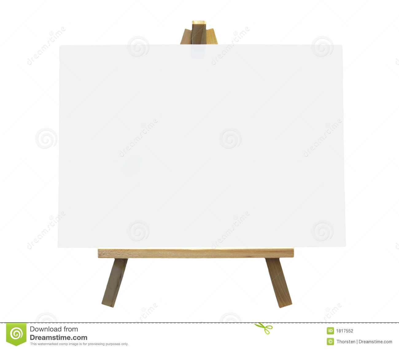 Easel With Canvas Clip Art #wS5GW1 - Clipart Kid