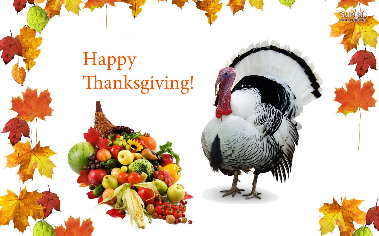 Happy Thanksgiving Turkey Wallpaper   Clipart Panda   Free Clipart