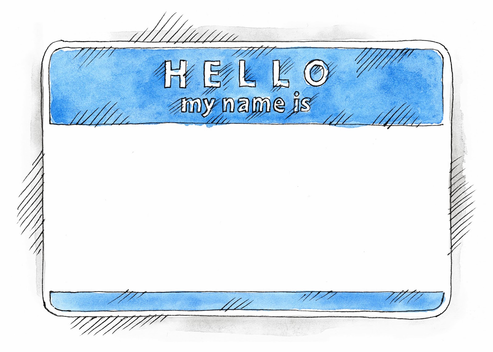 Hello My Name Is Clip Art Name Tag Hello My Name Is