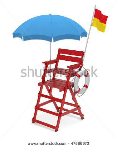 Lifeguard Chair Clip Art