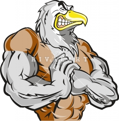 Mean Eagle Clip Art Source  Http   Www Stockofimages Com Files Mean