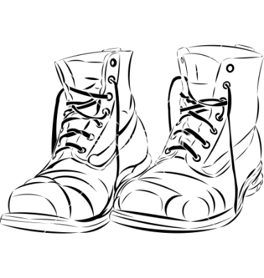 Old Boots Vector By Volmiller   Image  224607   Vectorstock