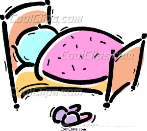 Pink Bed Clip Art Images   Pictures   Becuo