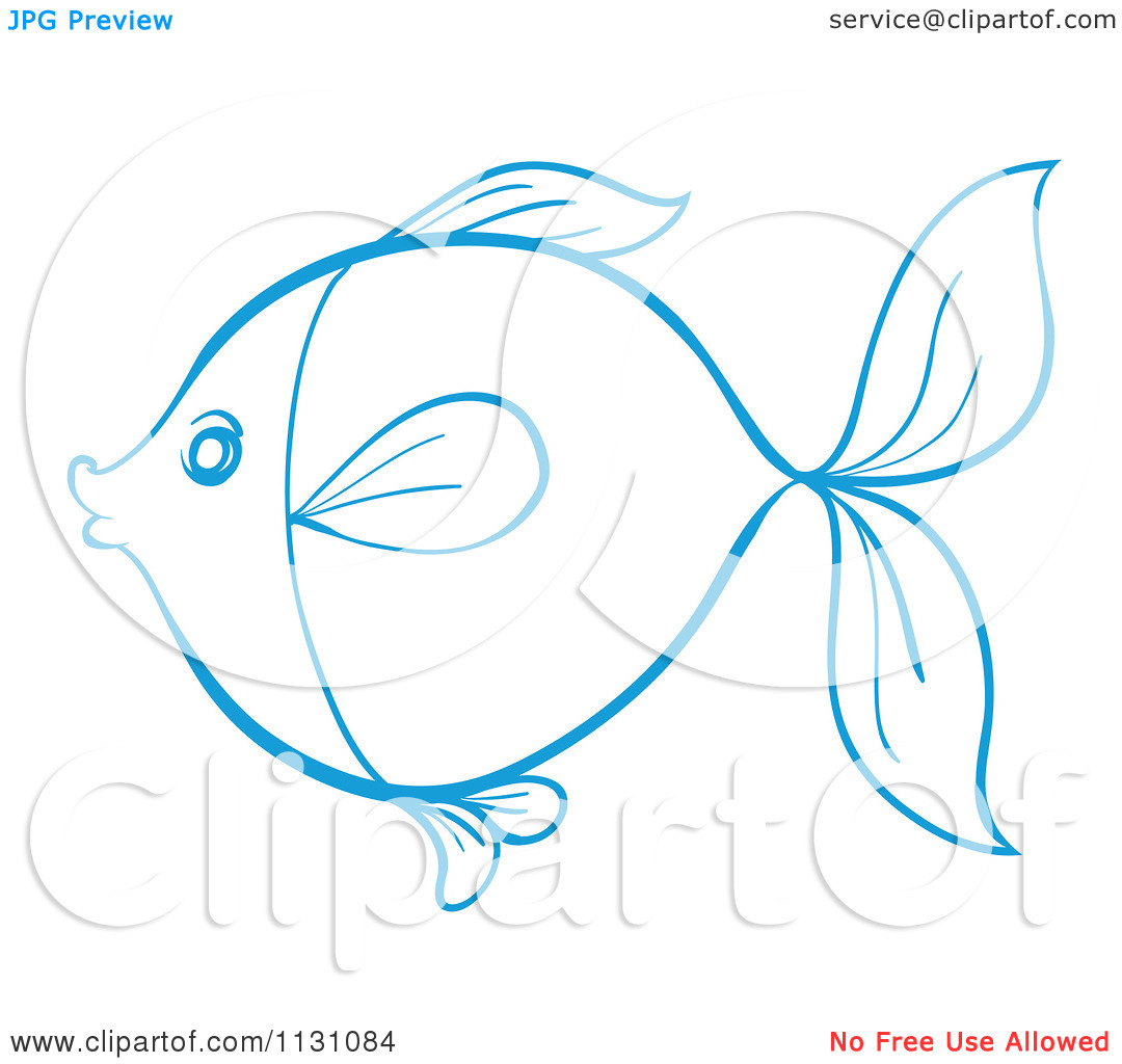 Simple Fish Outline Clip Art   Clipart Panda   Free Clipart Images