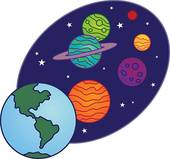 Cartoon Solar System Clipart - Clipart Suggest