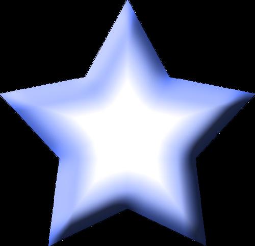 Blue Star Clipart - Clipart Kid