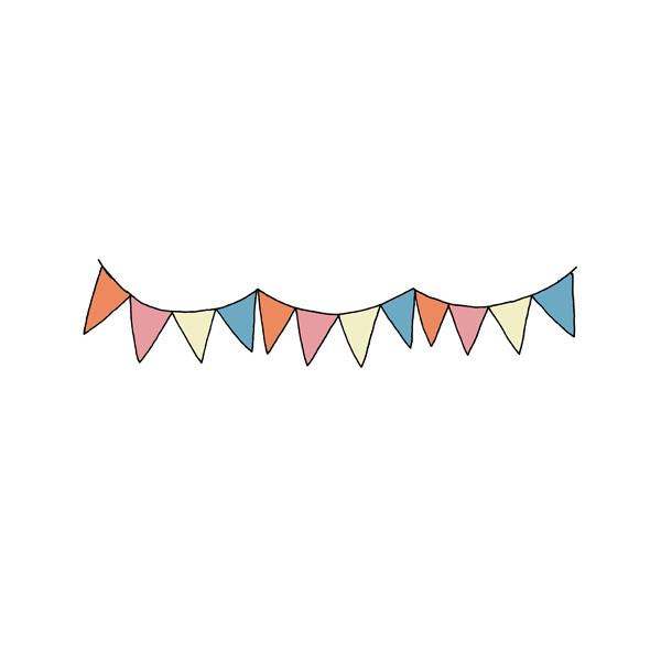 Triangle Banner Clipart Pennant Banner Clip Art #WzXwL2 ...