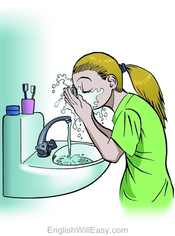 Image result for wash your face